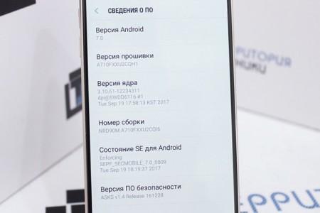 Смартфон Б/У Samsung Galaxy A7 (2016) Dual SIM