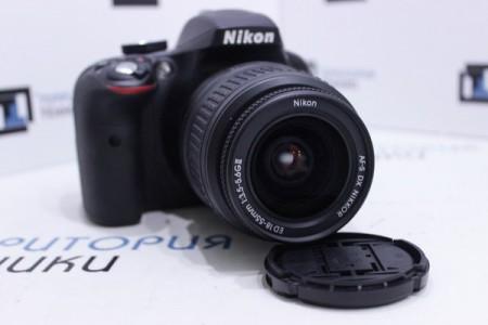 Фотоаппарат Б/У зеркальный Nikon D3300 Kit 18-55mm II